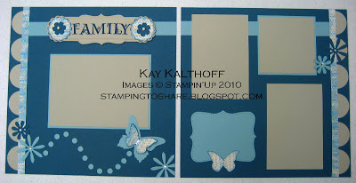 8/23 Butterfly Scrapbook Pages