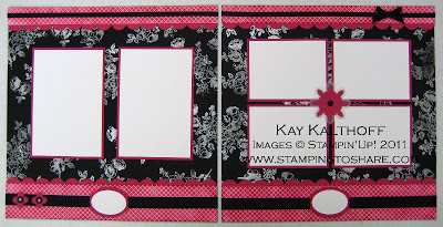 1/29 Stampin'Up! Elements of Style 12×12 Pages