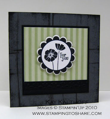 1/30 Stampin' Up! Punch Bunch can be Elegant!