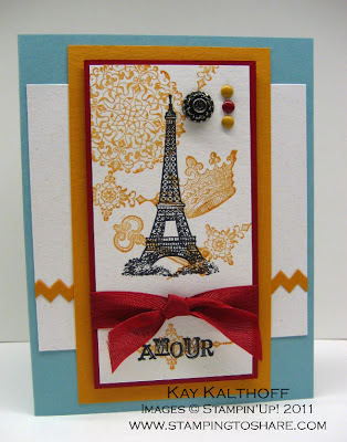 2/26 Stampin' Up! Color Coach & Artistic Etchings