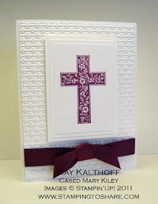 3/24 Stampin' Up! Crosses of Hope