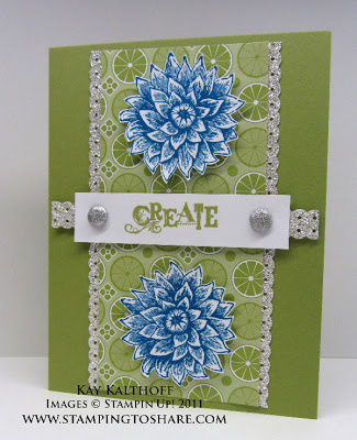 9/27 Stampin' Up! Creative Elements