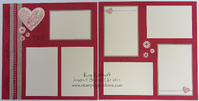 12/30 Stampin' Up! 12×12 Take It to Heart