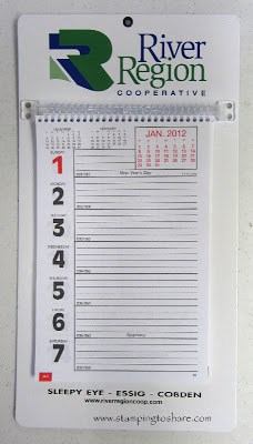 12/29 Stampin' Up! Events Calendar Remade!