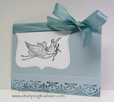 2/28 Stampin' Up! Bringing Baby