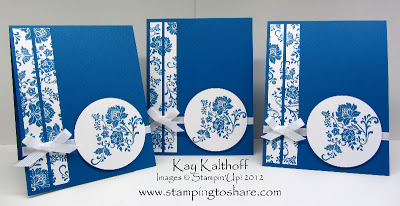 3/28 Stampin' Up! Fresh Vintage in Pacific Point