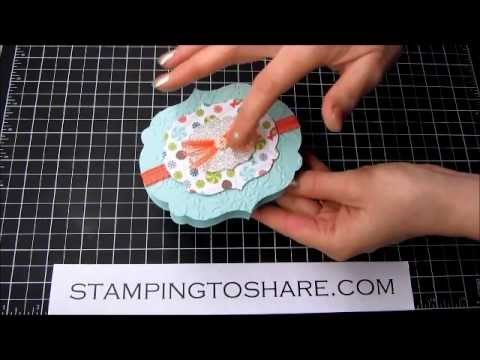 3/29 Stampin' Up! Assembling the Sweet Shop Treat Box Video Tutorial