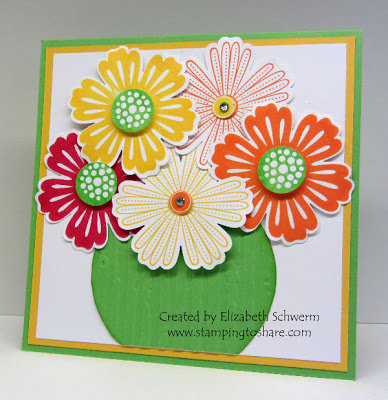 4/30 Stampin' Up! Mixed Bunch by Elizabeth