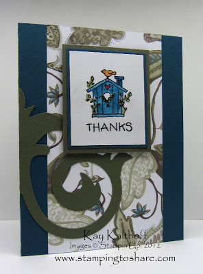 5/30 Stampin' Up! Just a Note Mini – fresh out of the box!!