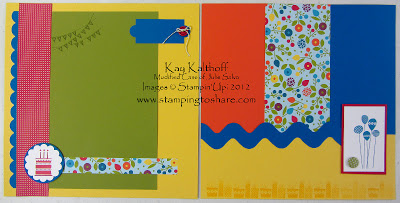 12/28 Bright 12×12 Birthday Pages