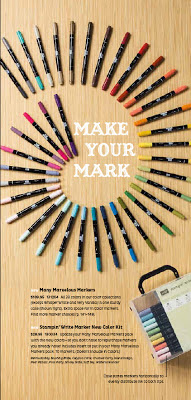 6/27 New Color Markers – get the set or buy singles through October 31