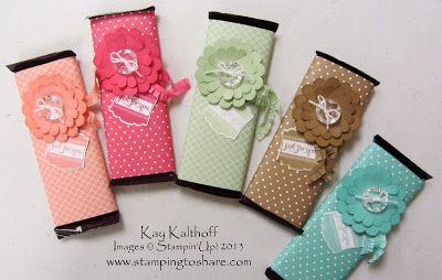7/29 Candy Bar Wraps with a Video Tutorial