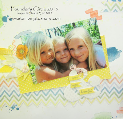 Scrapbook Pages from Founder's Circle 2013 & the NEW Weekly Deal!