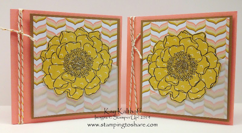 Beautiful Blended Bloom with Lullaby Designer Series Paper and How To Video