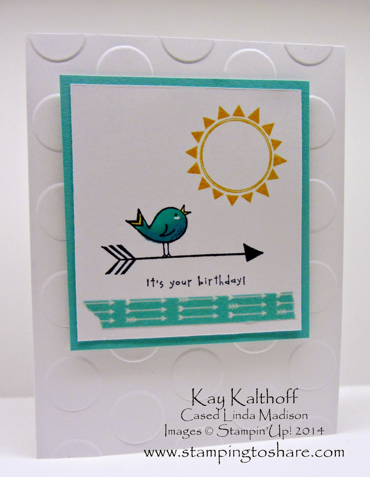 """Re-make of Convention Swap """"Hello Love"""" Card with How To Video"""