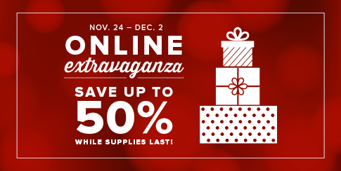 """Extravaganza SALE with DoorBusters BEGINS Today . . . and MPP """"Simpler"""" Snowflake with How To Video"""