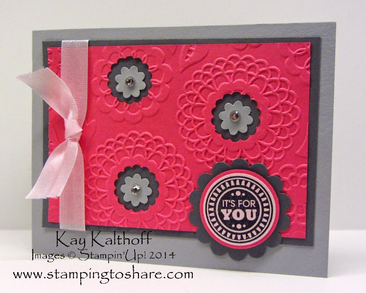 Amazing Birthday with Lovely Lace Embossing Folder PLUS How To Video!