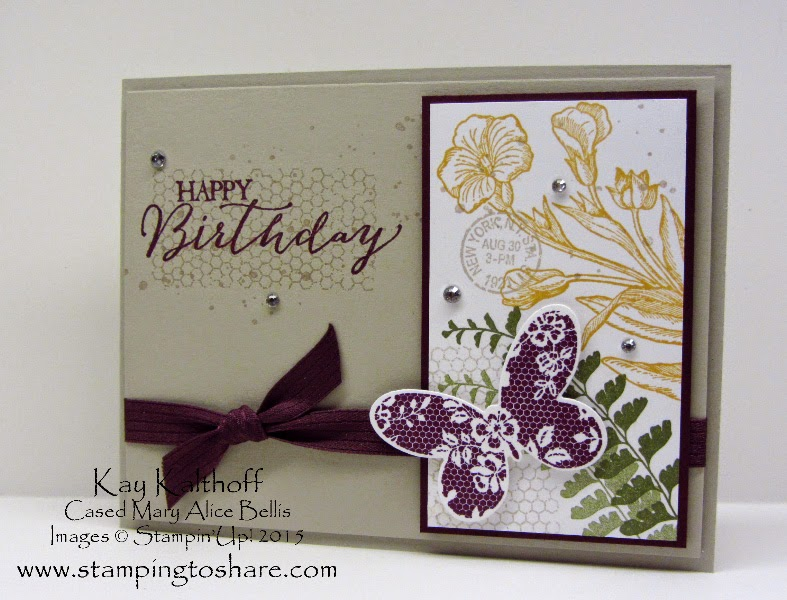 Beautiful Birthday Card with Butterfly Basics Bundle and How To Video
