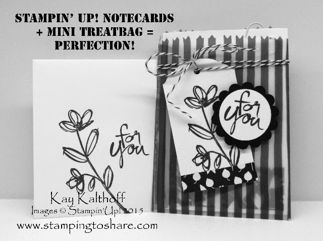 Note Cards + Treat Bags = Sheer Perfection! How To Video Included!