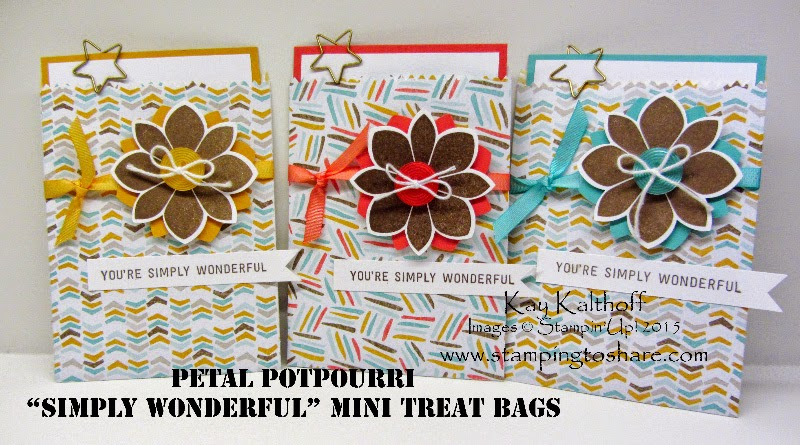 "Last Day to ""Sale-a-brate!"" Plus Mini Treat Bags with How To Video"