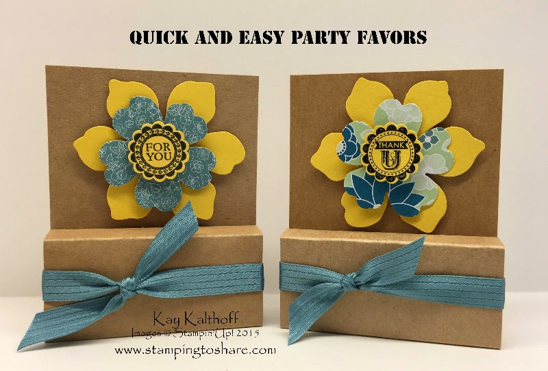 Quick & Easy Party Favors – No Adhesive Needed!