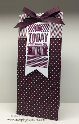 Making a TALL Gift Bag with the Gift Bag Punch Board + the How To Video!