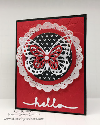 Greetings Butterfly Card with How To Video