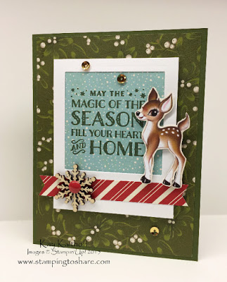 Home for Christmas with a Cozy Christmas Card PLUS the How To Video!