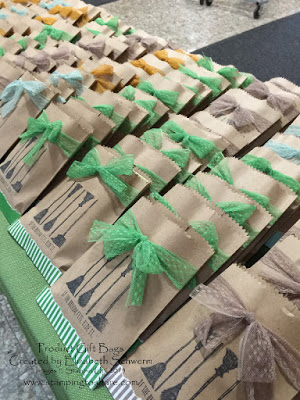 """Stampin' Up! """"If the Broom Fits"""" Treat Bag with How To Video"""