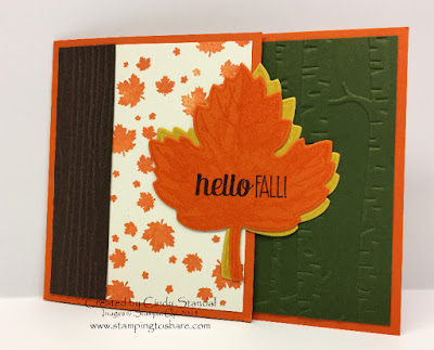 Our Stamping to Share Fall Themed Card Swaps