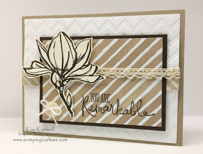 Stampin' Up! Remarkable You with How To Video