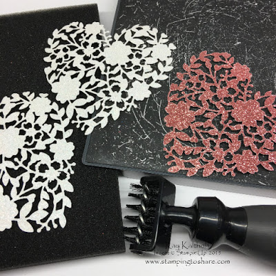 Stampin' Up! Precision Plate with the (Sneak Peek!) Big Shot Die Brush