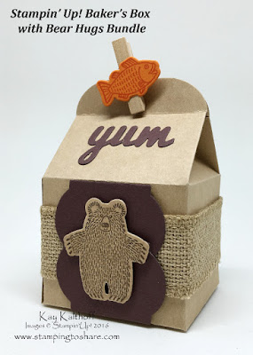 Cute Baker's Box with Bear Hugs Bundle PLUS How To Video!