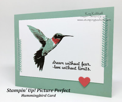 How to Stamp the Hummingbird with Picture Perfect Plus the How To Video