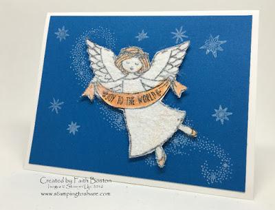 Stampin' Up! Wonder of Christmas Card