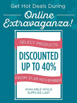 Stampin' Up! Extravaganza Sale!! Get all the details TODAY!