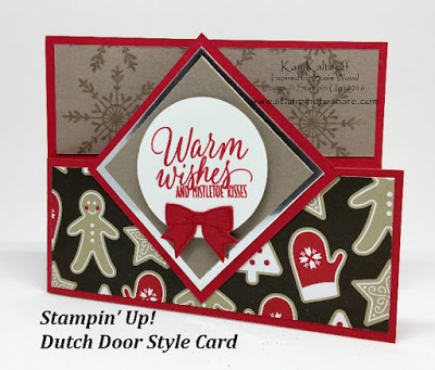 Stampin' Up! Dutch Door Style Card
