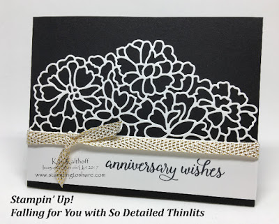 Falling for You with So Detailed Thinlit Dies, Stampin'Up!, Kay Kalthoff Stamping to Share