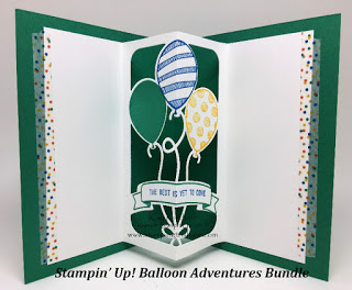 Balloon Adventures by Kay Kalthoff, Stampin' Up! Stamping to Share