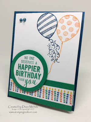 Balloon Adventures Stamping to Share