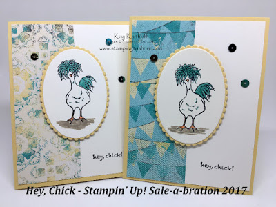 Stampin' Up! Hey Chick Card created by Kay Kalthoff for Stamping to Share
