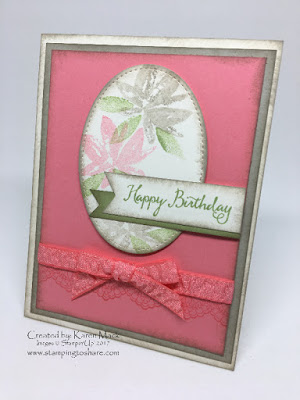 Stampin' Up! Avante Garden Card created by Karen Mack for Stamping to Share