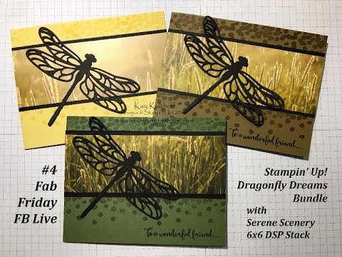 #4 Fab Friday Facebook Live Chat & Demo – Dragonfly Dreams Bundle