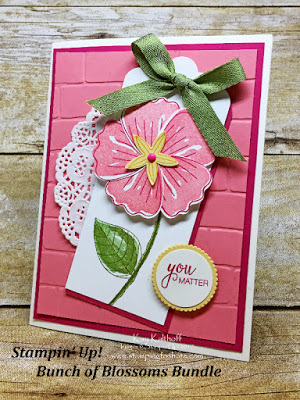 How to Make a Card with the Bunch of Blossoms Bundle – Includes How To Video