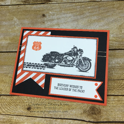 Stampin' Up! One Wild Ride Swap Card by Stacey Krats