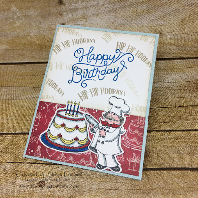 Stampin' Up! Birthday Delivery Bundle created by Shelly Lommel