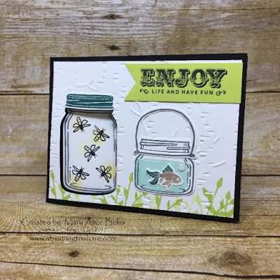 Stampin' Up! Jar of Love Bundle created by Mary Alice Bellis