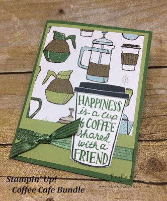 #12 Fab Friday Stamp & Chat with the Coffee Cafe Bundle