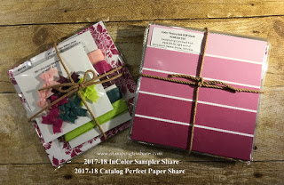 In Color Sampler and Perfect Paper Shares by Kay Kalthoff with Stampin' Up! and Stamping to Share.