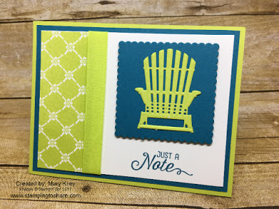 Created by Mary Kiley with Stampin' Up! Flourishing Phrases and Seasonal Layers Thinlits for Stamping to Share.
